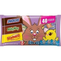 Lot of 3 Mars Assorted Easter Candy Snickers MilkyWay Starburst 10.49oz/... - $14.50