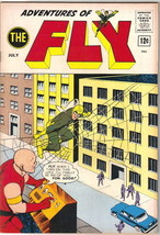 Adventures of The Fly Comic Book #26, Archie 1963 FINE+ - $27.98