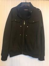 Sableu By Jiniy Black Sweatshirt Jacket Full Zipper 2XL Ships N 24h - $30.08