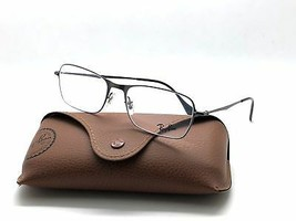 New Authentic Ray Ban RB6253 2759 Matte Gunmetal 54mm Eyeglasses w/ Case - $63.02