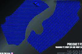 FRAME GRIP GUARD DECAL BLUE D'cor Visuals - $29.95