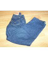 Boy's Size 12 Slim 550 Relaxed Fit Levi's Levi Strauss Denim Blue Jeans EUC - $22.00
