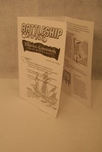 Battleship Command Pirates of the Caribbean Game Replacement Instructions 2006 - $7.95