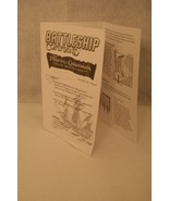 Battleship Command Pirates of the Caribbean Game Replacement Instruction... - $7.95
