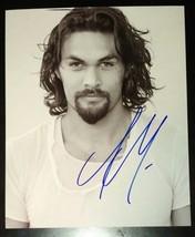 Jason Momoa Hand Signed 8x10 Photo COA Justice League Game Of Thrones - $120.00