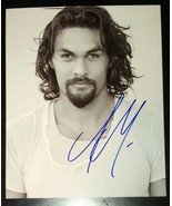 Jason Momoa Hand Signed 8x10 Photo COA Justice League Game Of Thrones - $120.00
