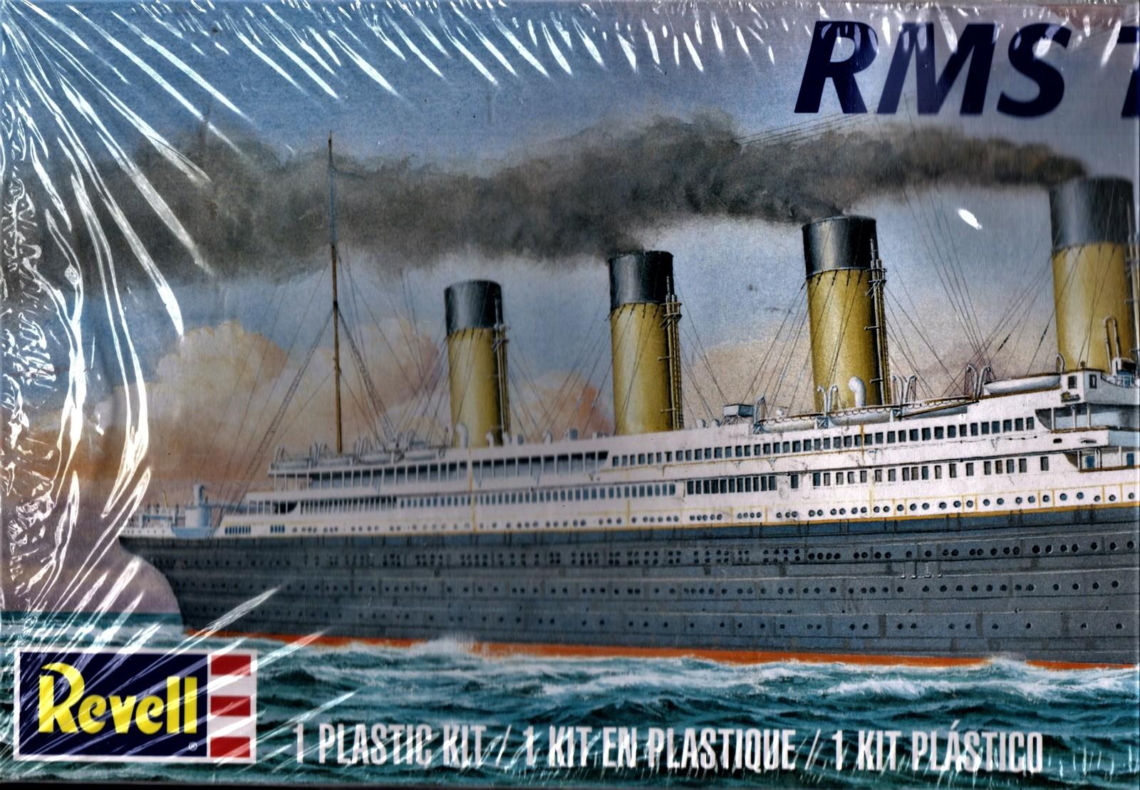 Revell RMS Titantic - skill 2 plastic model (Brand New, Factory Sealed)