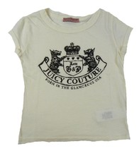 Girl's Juicy Couture Shirt Love G & P Graphic Tee Born in the USA T-Shirt Yellow