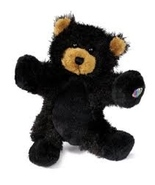 Webkinz Black Bear NEW with Unused Sealed Code/Tag - $6.49