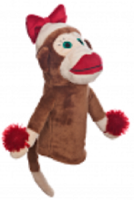 Primary image for Monkey Made of Sockie Girl Daphne Golf Head Cover Hybrid/Utility