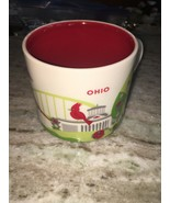 Starbucks OHIO You Are Here Collectors Coffee Mug Cup 14 Oz YAH Collection - $23.76