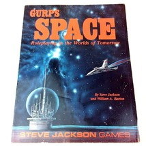 GURPS RPG SPACE RolePlaying Worlds of Tomorrow Barton Steve Jackson Game... - $19.79