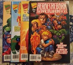 heroes reborn: the return #1-4 (complete mini-series) - $10.00