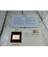 Fishing Flies Apte Tarpon Fly 22kt Golden Replica Stamp 1991 First Day S... - $19.79