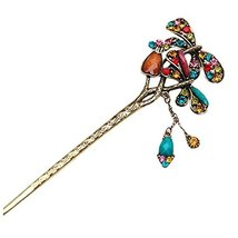Classical Retro Hair Decor Hair Stick Hairpin Elegant Traditional Hair Clip With - $14.97