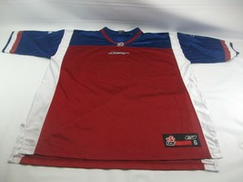 Montreal Alouettes L Burgundy Porthole Mesh CFL LCF Reebok Football Jersey - $31.45