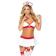 Sexy Lingerie Nurse Costume Outfit Set Nurse Cosplay Free Size