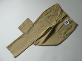 NWT Anne Klein Boot Leg in Curds & Whey Sateen Cotton Trouser Pants 10P ... - $23.99