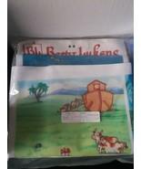 Betty Lukens Felt Book Ten Noahs Ark Craft Kit Vintage DIY - $39.55