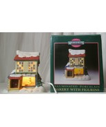MEMORIES COLLECTION ILLUMINATED PORCELAIN Bakery with Figurine  - $24.74