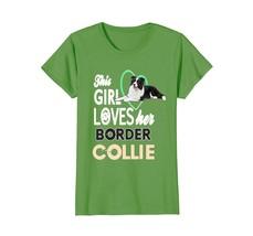 Border collie t shirt women - $19.99+