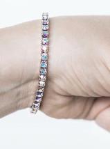Sparkling Aurore Boreale stretch bracelet by Swarovski NEW - $20.00