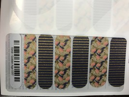 Jamberry Nails (new) 1/2 sheet GOLDEN AGE 0317 - $8.42