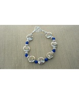 Paw Print or College Paw Print Inspired Silver Plated Bracelets Handmade - $23.50