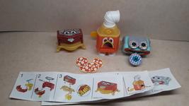 Kinder - K04 41-43 Furniture & Appliances - complete set + 3 papers - $3.50