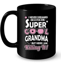 Buzz Grandma Coffee Tea Drink Funny Cute Ceramic Mug Cup 11OZ Gift Chris... - $13.09