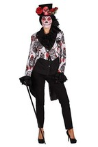 Halloween 2017 - Sugar Skull TAILCOAT Jacket  , Ladies - $51.82+