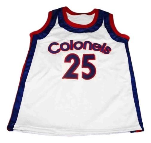 Maurice lucas  25 colonels kentucky aba new men basketball jersey white   1