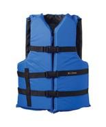 Onyx Nylon General Purpose Life Jacket - Adult Oversize - Blue - $30.59