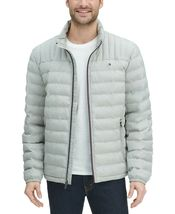 Tommy Hilfiger Men's Ultra Loft Packable Puffer Jacket Heather Grey image 4