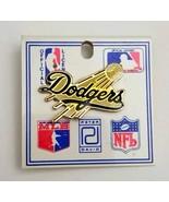 Vintage Los Angels Dodgers Baseball Pin ~1985 MLB PG-43 By Peter David~G... - $29.65