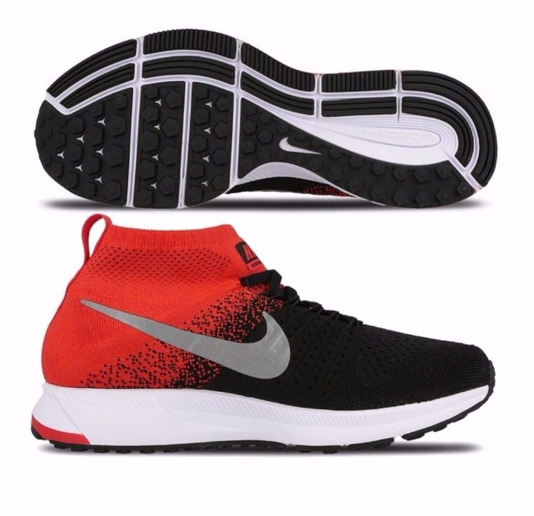 new style ec46e 79546 57. 57. NIKE ZOOM PEGASUS ALL OUT FLYKNIT GS BIG KID S RUNNING SHOES Black. NIKE  ZOOM PEGASUS ALL ...