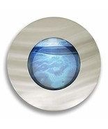 Aussie Aquariums AA-Porthole-BSILVER 2.0 Wall Mounted Aquarium, Brushed ... - $148.41