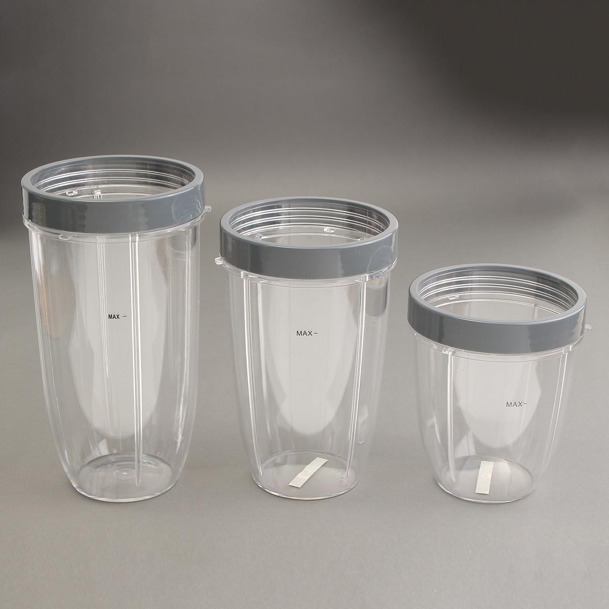 18 Oz/24 Oz/32 Oz Replacement Cup With Lid For Nutribullet Nutri Bullet Blender