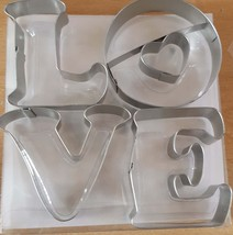 love cutters for the kitchen ideal cookies cakes bread etc with heart as an extr