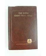 Super Giant Print Bible The Old-Time Gospel Hour Edition 1 Chronicles to... - $16.80