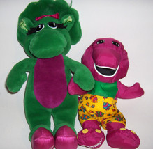 Baby Bop and Barney the Dinosaur Pals  (Swimming Suit) Plush Toys  --gift - $22.00
