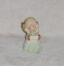 "Homco Home Interiors 5"" Angel Playing Accordian Figurine 5504 Vgc - $7.59"