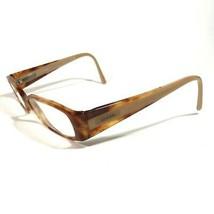 Chanel Brown Tortoise Rectangular Narrow Eyeglass Frames 3122 c.945 53 18 135 - $187.00