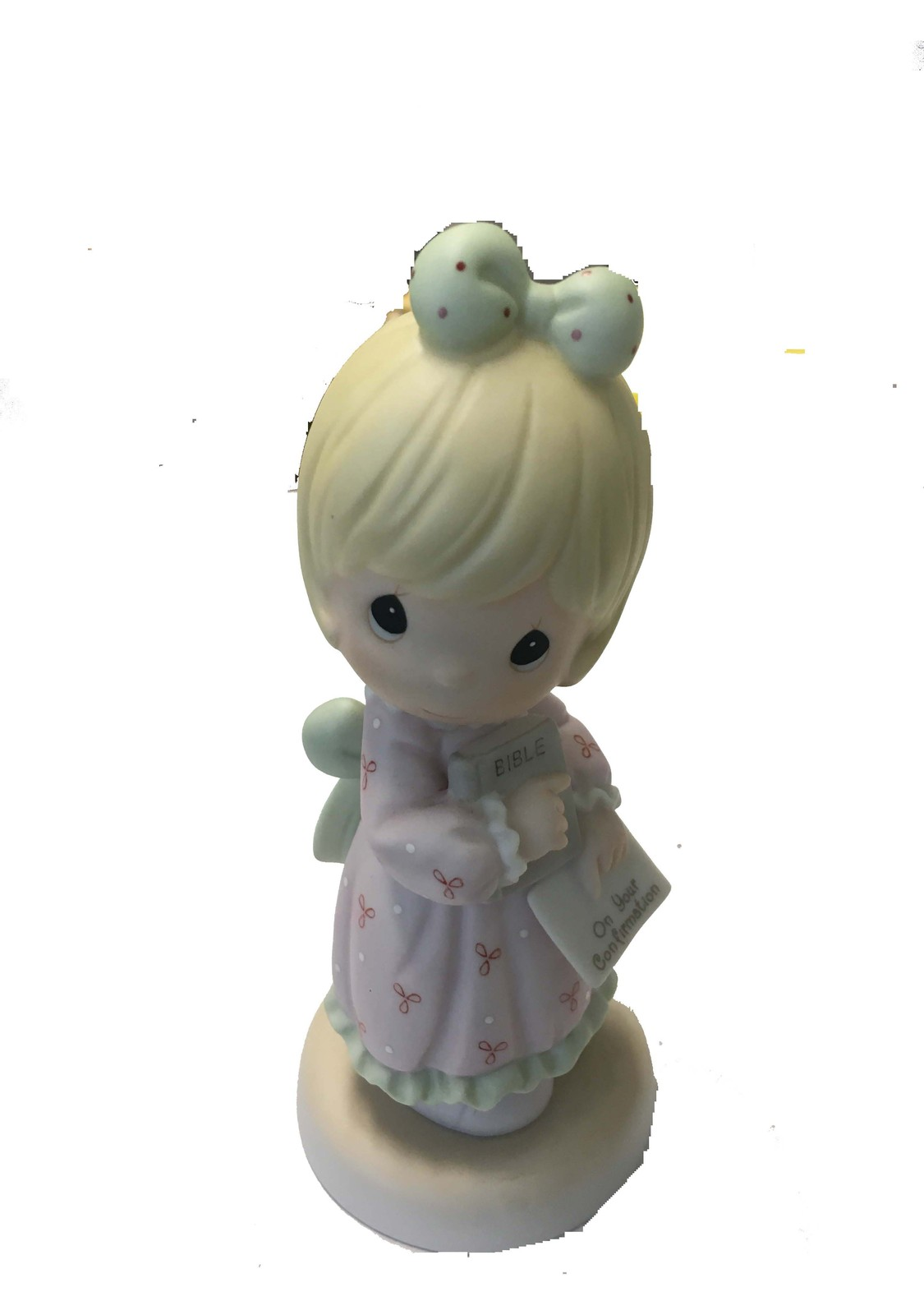 Precious moments confirmed in the lord ceramic ornament