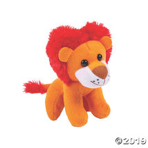 Valentine Stuffed Lions with Heart-Shaped Mane - $25.25