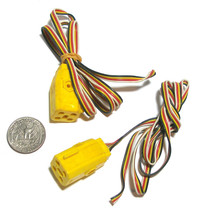 2pc Aurora Turn-Ons Cats Eyes Blazin' Brakes Stop Police! 4-WIRE Controller Plug - $4.94