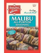 Malibu All-Purpose Seasoning Marinade Rub BBQ Garlic & Onion Blend Amazi... - $6.88