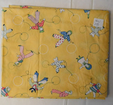 Fabric Juvenile Cotton Print, Michael Miller Crib Characters, 42 Wide 1 1/3 Yard - $7.99