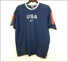 Nike  USA Tee Navy 100% Cotton Size XL - $9.00