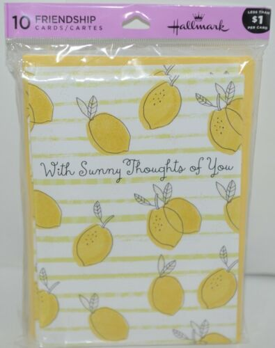 Hallmark TOY1288 Thinking of You Friendship Cards Package 10